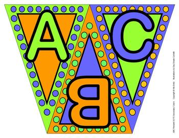 ABC, 123 Pennants Secondary Dots