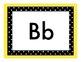 ABC-123 Polka Dot Wall Headers