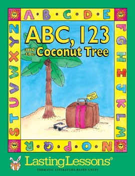 ABC 123 and the Coconut Tree Activty E-Book