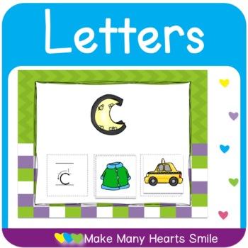 Letter Recognition One Page Mats Bundle