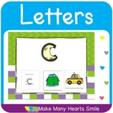 Letter Recognition One Page Mats    MHS284