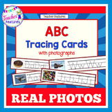 Alphabet Tracing Cards with Photos