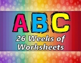 ABC 26 Week Unit