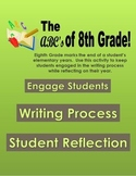 ABC 8th Grade Reflection Book