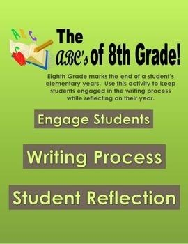 ABC 8th Grade Reflection Book