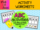 ABC Activities 2: Cut, Match and Paste - Beginning Sounds