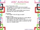 ABC Activities and Letter Recognition