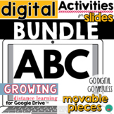 ABC Activities for Google Classroom DISTANCE LEARNING