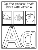 ABC Activity Bundle
