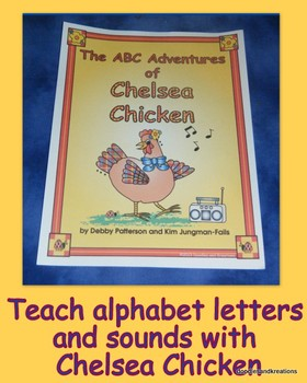 ABC Adventures of Chelsea Chicken-Colored Version