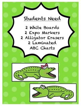 ABC Alligator Chomp-Crunch Game