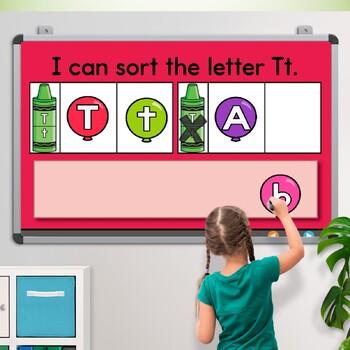 Alphabet Activities ~ Promethean Board Flip Chart