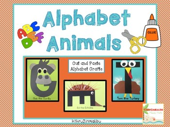 ABC Alphabet  Animal Crafts