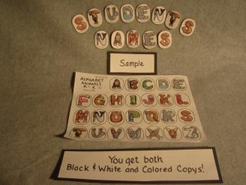 ABC Alphabet Animals Bundle. Fun Crafts Art