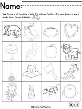 ABC Alphabet-Beginning Sounds