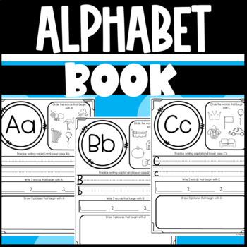 ABC Alphabet Book: Beginning Sounds