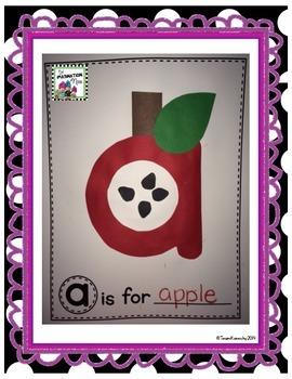 ABC Alphabet Book & Super Sentence