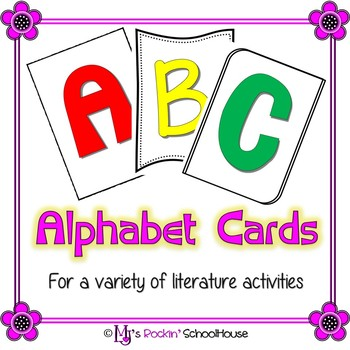 ABC Alphabet Cards (Over 1,500 Letter Cards)