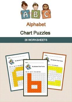 ABC Alphabet Chart Puzzles