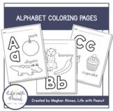 ABC Alphabet Coloring Pages