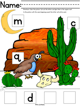 ABC Alphabet Coloring Phonics
