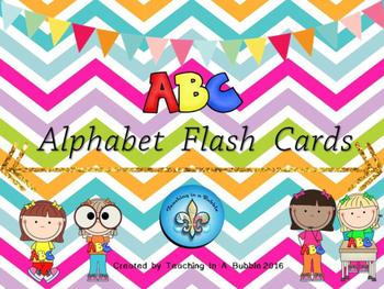 Alphabet Flash Card Freebie