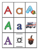 ABC Alphabet Games - Letter and Picture Cards