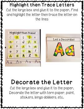 ABC Alphabet Interactive Notebook