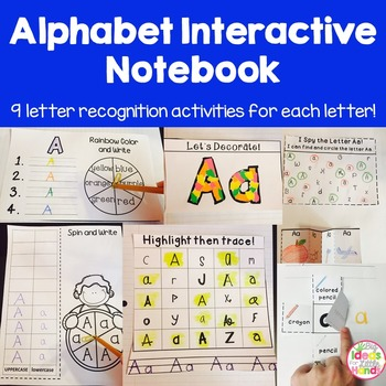 ABC Alphabet Interactive Notebook