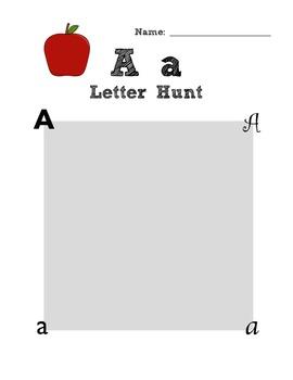 ABC Alphabet Letter Hunt
