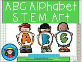 ABC Alphabet Letter STEM Art Science, Technology, Engineering & Math
