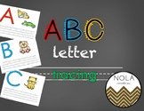 ABC Alphabet Letter Tracing Pack
