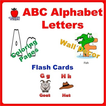 Alphabet Printables Flash Cards