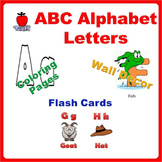 Alphabet Printables - Flash Cards, Wall Decor, Coloring Pages