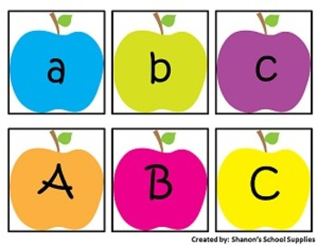 ABC Alphabet Match! A Lowercase and Uppercase Letter Matching Game