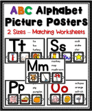 ABC Alphabet Picture Posters Pack