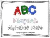 ABC Alphabet Playdoh Letter Mats
