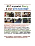 ABC: Alphabet, Poetry & Civil Oral Communication Practice