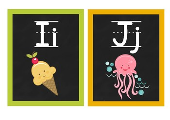 ABC Alphabet Posters (Word Wall)