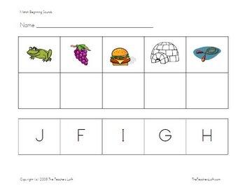 ABC Alphabet Printables - Practice, File Folder Games, Centers