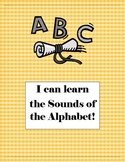 ABC Alphabet Sounds Book for beginning readers