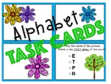 ABC Alphabet Task Cards!