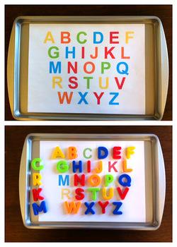 ABC Alphabet Tot Printable