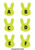 ABC Alphabet and Number Bunnies