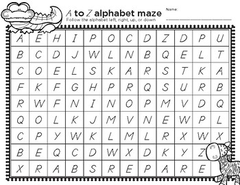 Original on kindergarten mazes