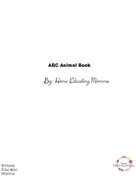 ABC Animal Book