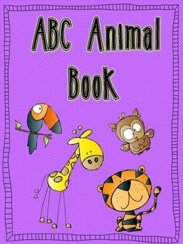 ABC Animal Book-Class Book Writing