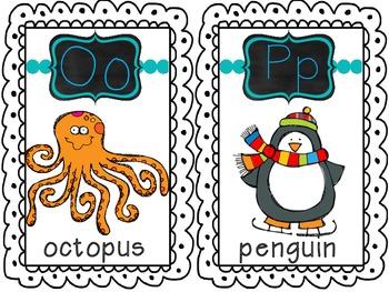 ABC Animal Cards
