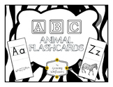 ABC Animal Flashcards through the Alphabet