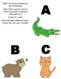 ABC Animal Flashcards